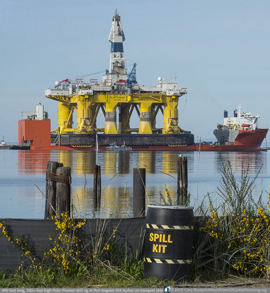 shell oil rig